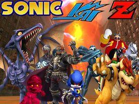 Sonic Kai Z villains poster