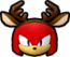 Sonic Runners Christmas Knuckles Icon