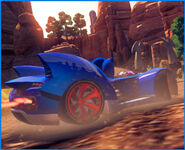 Sonic sega racing transformed cuadradito