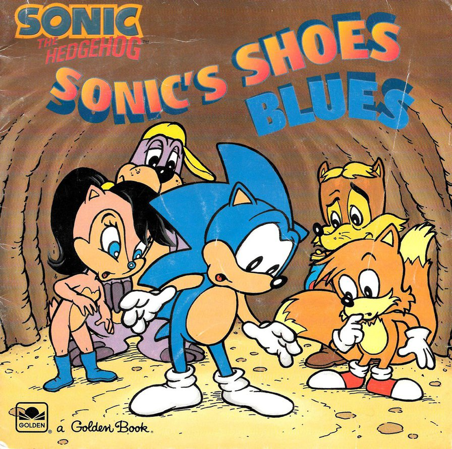 Sonic S Shoes Blues
