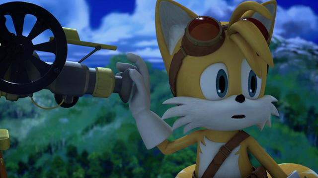 File:SB - Tails is looking the mysterious Muckfoot.png