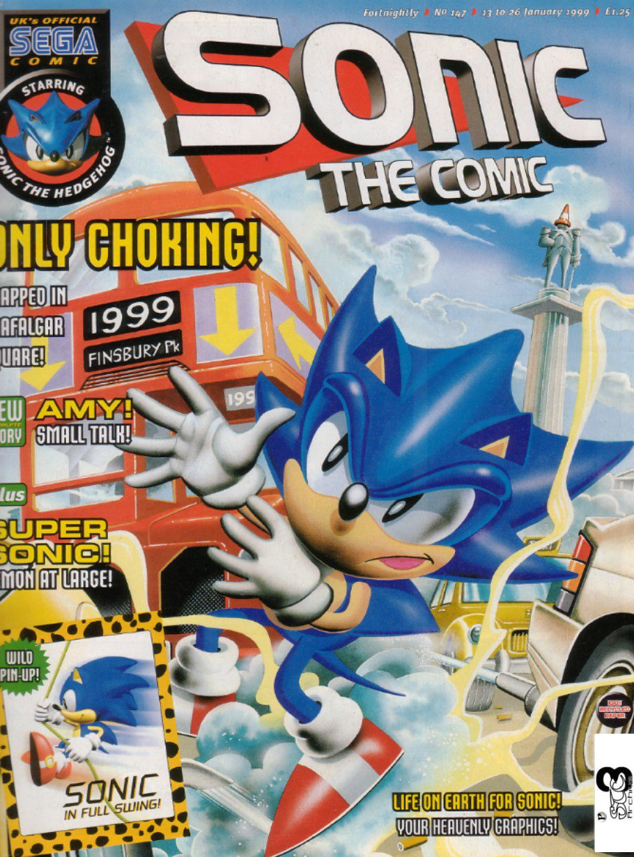 Sonic The Comic Issue 147 Sonic News Network Fandom