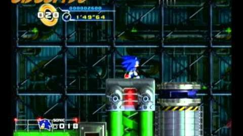 Sonic 4 Episode 1 Mad Gear Zone Act 1