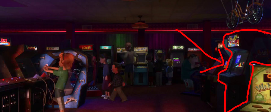 Wreck it ralph sonic arcade machine by codeman160-d5hg7rg