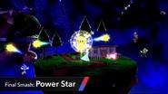 SSB4 Power Star Sonic