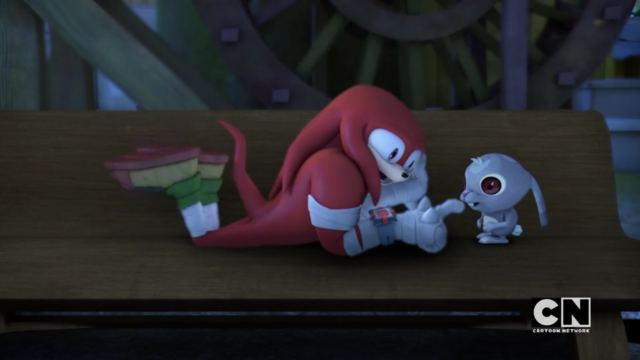 File:Knuckles plays with a bunny.png