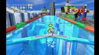Sonic Heroes Grand Metropolis (Team Dark)