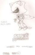 Classic Metal Sonic HYRO
