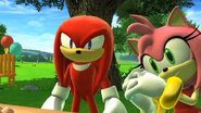 SG Knuckles and Amy
