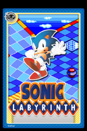 Sonic Labyrinth Stampii trading card