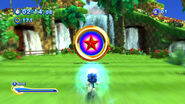 Sonic Generations Boosting to Goal