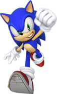 Sonic 25th Anniversary Render