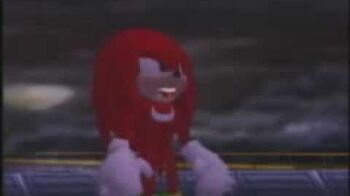 Japanese Sonic Adventure commercial (Knuckles the Echidna)