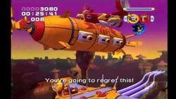 Sonic Heroes Egg Albatross (Team Dark)