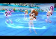 PeachDaisyAmyBlaze London2012 Screenshot 12(Wii)
