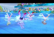 PeachDaisyAmyBlaze London2012 Screenshot 6(Wii)
