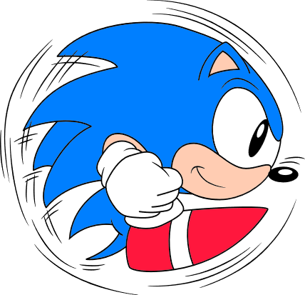 Classic sonic roll-120px
