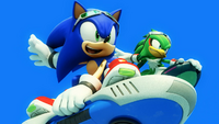 Sonic and Jet (Sonic Free Riders Opening)