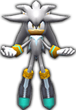 Sonic Rivals 2 - Silver the Hedgehog model