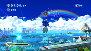 Sonic Generations @ Seaside Hill through rainbow rings