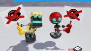 Orbot Cubot on strike