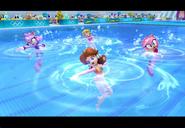PeachDaisyAmyBlaze London2012 Screenshot 9(Wii)
