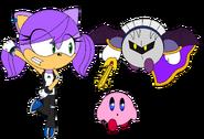 Sam, Kirby & Meta Knight