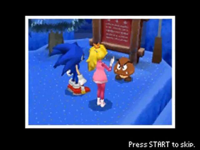 File:Sonic, Peach & Goomba.jpg