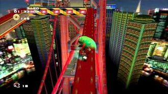Sonic Adventure 2 (PS3) Radical Highway Mission 1 A Rank