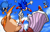 File:Sonic advance 2 ending artwork Sonic catches Vanilla.png