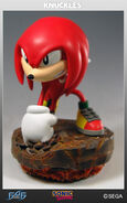 First-4-Figures-Knuckles-Standard-Statue-Pic