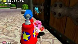 Sonic Adventure DX (GC) Amy Twinkle Park Missions Level B and A