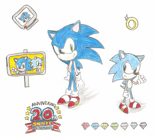 File:Sonic Generations Fan Art.png