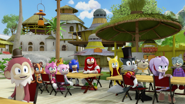 File:Villagers laughing at Eggman.png