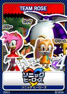 Sonic Heroes 13 Team Rose