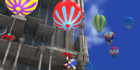 High-Rise Balloon Climb