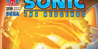 Archie Sonic the Hedgehog Issue 208