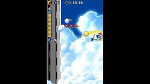 DesMuMe Sonic Rush Altitude's Limit Act 2 - Sonic, 1080p 60FPS
