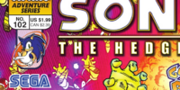Archie Sonic the Hedgehog Issue 102
