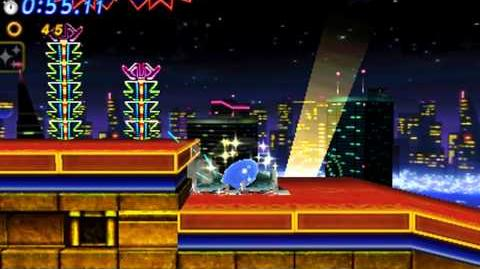 Sonic Generations 3DS - Classic Casino Night