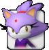 Blaze icon (Mario & Sonic 2008)