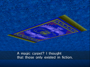 Magic carpet in action