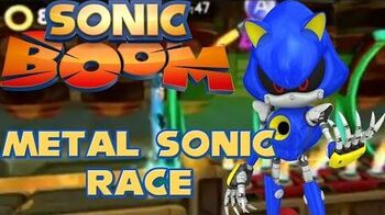 Sonic Boom- Shattered Crystal - Metal Sonic Race Gameplay