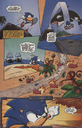 Sonic X issue 3 page 2