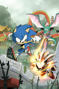 Sonic issue 281 main cover concept