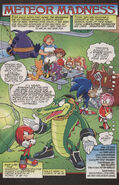 Sonic X issue 33 page 1