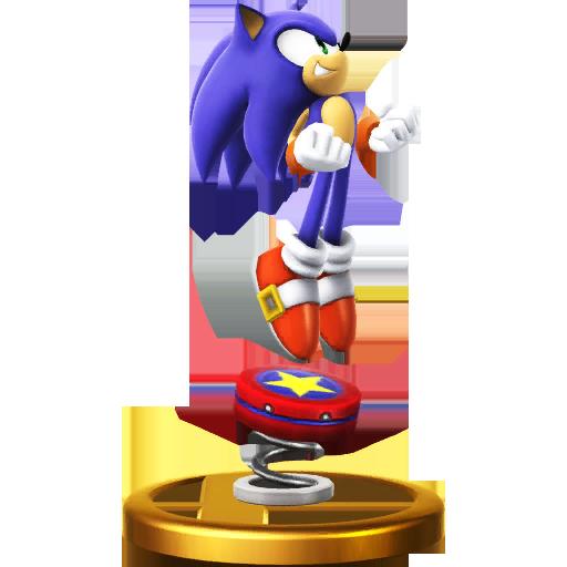 File:Trophy 611 - Sonic (Alt.) (SSB for Wii U).png