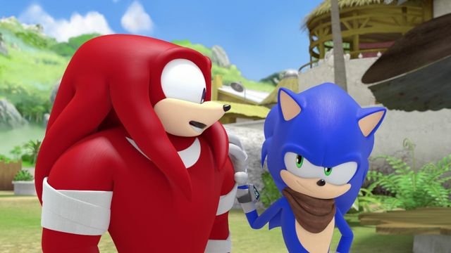File:Knuckles and sonic.png