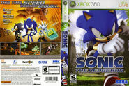 Sonic The Hedgehog (2006) - Box Artwork - US Front And Back- (1)