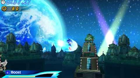 Sonic Generations 3DS - Silver